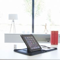 A4 Zipped Conference Folder and iPad / Tablet Holder